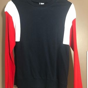 NEW H&M Color Block Sweater